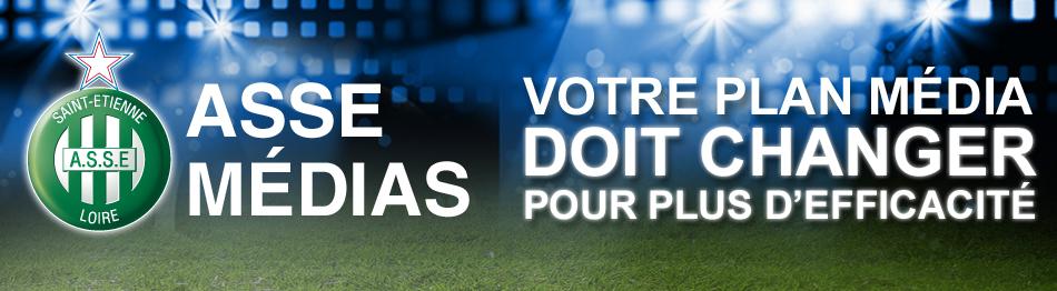 ASSE Media - Régie Pub officielle de l'AS Saint-Etienne