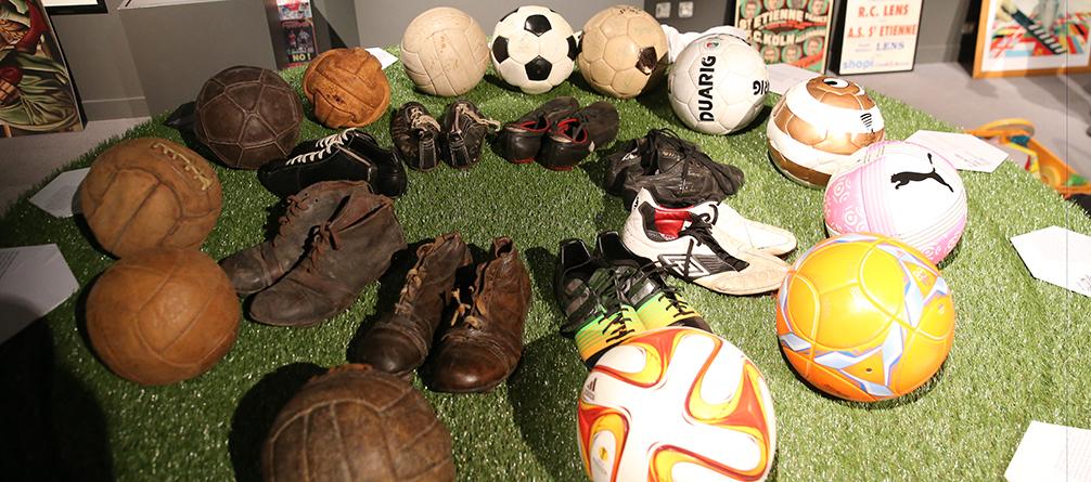 Découvrez la nouvelle exposition temporaire : Foot évolutions