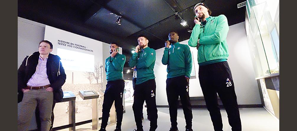 ASSE Musée des Verts - Visite des nouveaux Verts