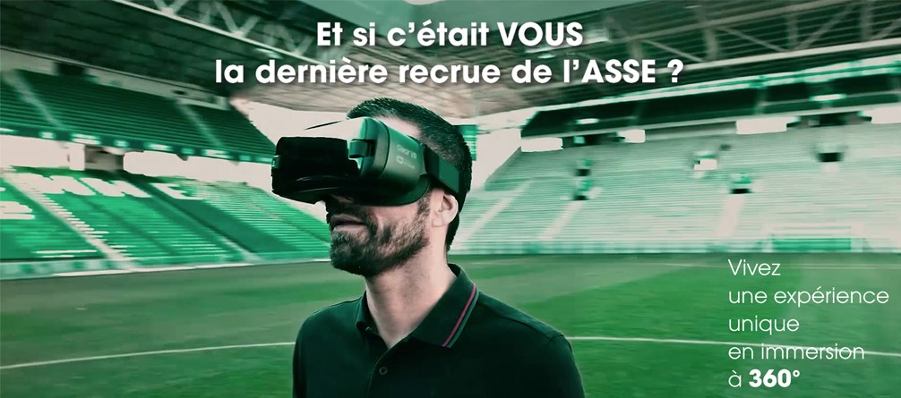 ASSE  - En immersion 360° au coeur des Verts