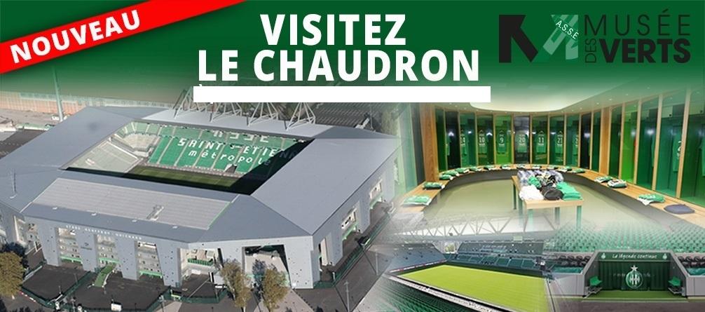ASSE Le stade - La visite du stade Geoffroy-Guichard